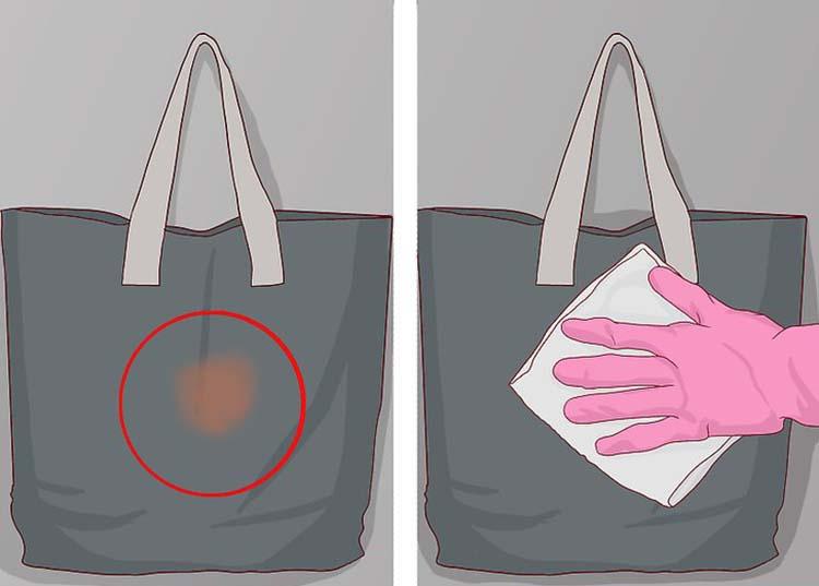 clean canvas bag
