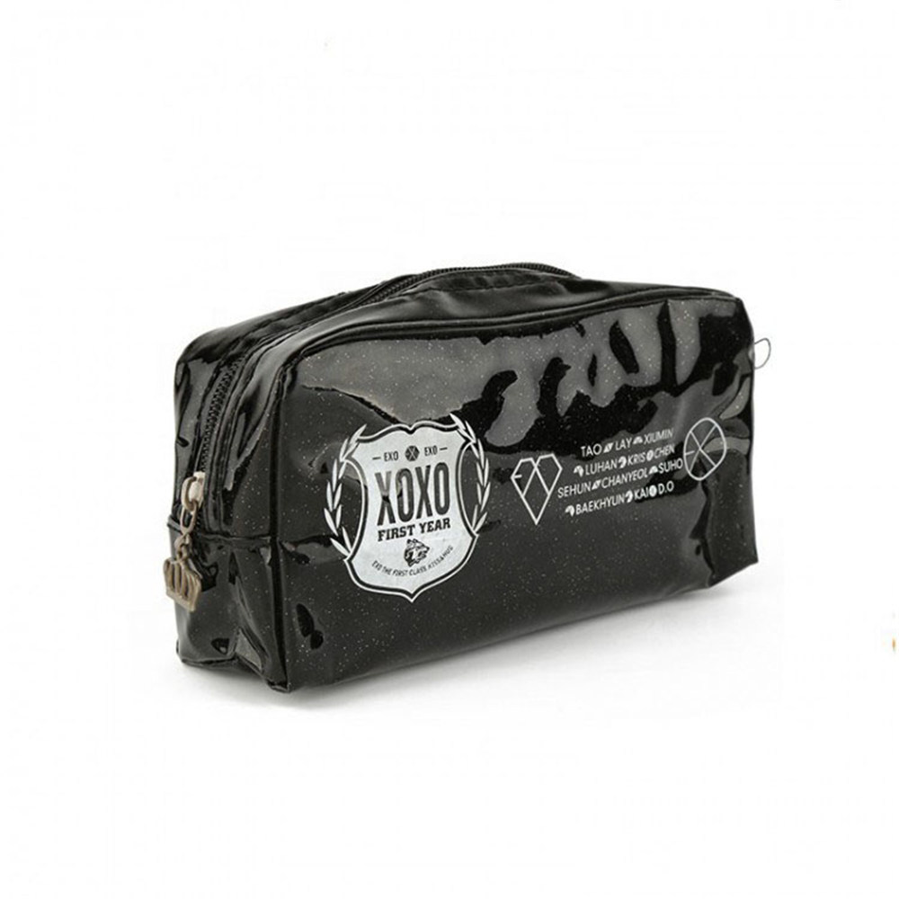 Personalized Leather Makeup Bag01