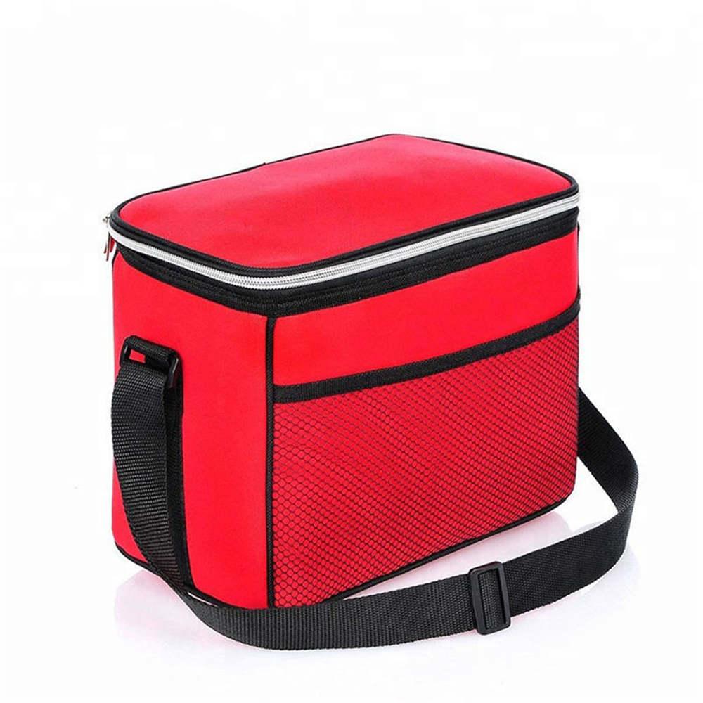 Red 600D Outdoor Travel Frozen Beer Cooler Bag01